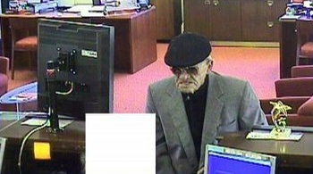 Old Man Robs San Diego Bank